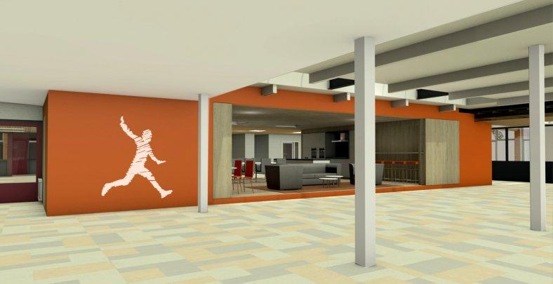 Interieur metamorfose Sport IKC Het Startblok